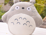 毛绒玩具 卡通龙猫靠枕 手捂 暖手抱枕 批发