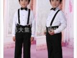十一儿童舞蹈服装礼服演出服小学生幼儿园演出服合唱服秋装背带裤