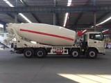 中国重汽豪沃380马力14方15方水泥搅拌车厂家