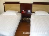 厂家直销宾馆酒店布草 40s普通缎条 加密条纹 三公分条纹 缎条