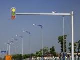 森发厂家直销交通信号灯刚红绿灯杆电子警察杆十字路灯口监控杆