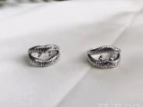 圣罗兰Ysl新款925银戒指