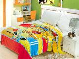 2014秋季新款法莱绒儿童毯韩版卡通图案毯子儿童盖毯批发厂家直销