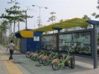 衢州公共自行车亭制作厂家