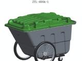 供应环卫环保塑料垃圾车400L超高品质超