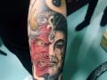 天刺堂刺青培训机构 学纹身随到随学教学我们是认真的