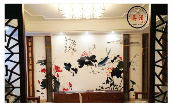绍兴墙绘涂鸦手绘墙3d画