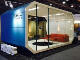 玻璃隔断墙,打造一个时尚多样的办公室