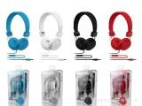 厂家批发   中性耳机 重低音 插线头戴式耳机 可OEM ODM