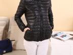 厂家直销 2014冬装新款修身型保暖外套纯色款韩版棉衣女