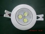 厂家直销 3W 各类专业LED灯 商场专柜用LED天花灯