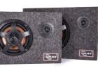 工厂直销 凯跃8寸超薄方形绒布箱带高音汽车有源低音炮