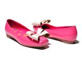 厂家授权 新品上市 夏季透气单鞋 真皮鞋 甜美蝴蝶结淑女女鞋批发