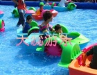天蕊游乐 厂家 组合滑梯 大型游乐设备 充气玩具 旋转飞鱼钢架蹦