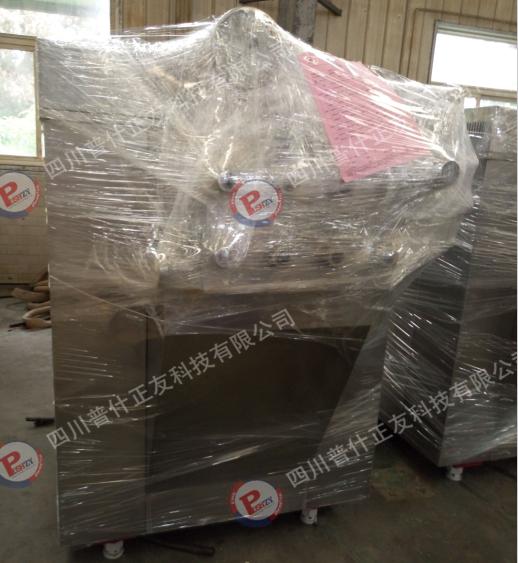 四川正友机械出售一台上海申鹿均质机 杀菌机 灌装机 装箱机