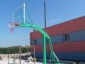 出售移动式篮球架 地埋式篮球架 标准篮板 篮筐
