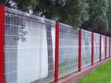 PVC绿色三角折弯围栏网、6X20加强型