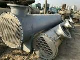 转让二手不锈钢列管冷凝器二手钛材质列管冷凝器