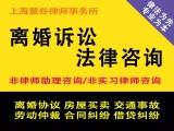 上海离婚子女抚养权归属 财产房产分割律师离婚律师