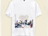 来图定做EXO短袖T恤 班服 校服 后援会 明星周边产品批发 好