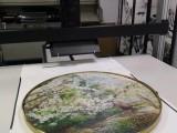上海艺术品复制 瓷砖扫描 墙纸扫描 油画立体扫描