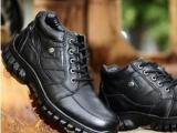 一件代发 冬季男保暖皮鞋男棉鞋雪地靴