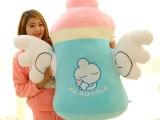 批发小天使奶瓶仔抱枕可爱公仔婴儿宝宝 超大号毛绒玩具