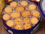 年货批发 大润谷丹麦风味 曲奇饼干600g 休闲食品 厂家直销