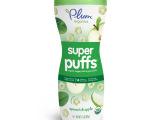 [授权保障]婴幼儿零食美国谷百Plum Organics苹果菠菜