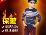 咕咕娃儿童装羊毛衫2014冬季新款英伦长袖毛衣男童针织衫时尚上衣