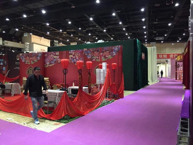 展览展会覆膜地毯 结婚一次性地毯 加厚拉绒 展览地毯厂家直销