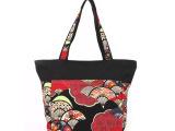 零售72元布艺饰袋民族风单肩帆布包女士拼接花布包混批民族风包包