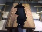 整体设计简欧风格实木餐桌书桌实木大板无污染零甲醛