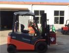 出租丰田3吨8FBN30电动平衡重叉车租赁送货到家