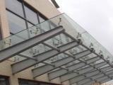 玻璃雨棚,上海玻璃雨棚,钢结构玻璃雨棚