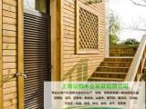 九台市户外防腐木地板的铺设技巧