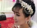 欣欣纹绣化妆、新娘跟妆