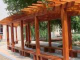 南京防腐木制品加工厂 木栈道 木屋 葡萄架 木桥 凉亭