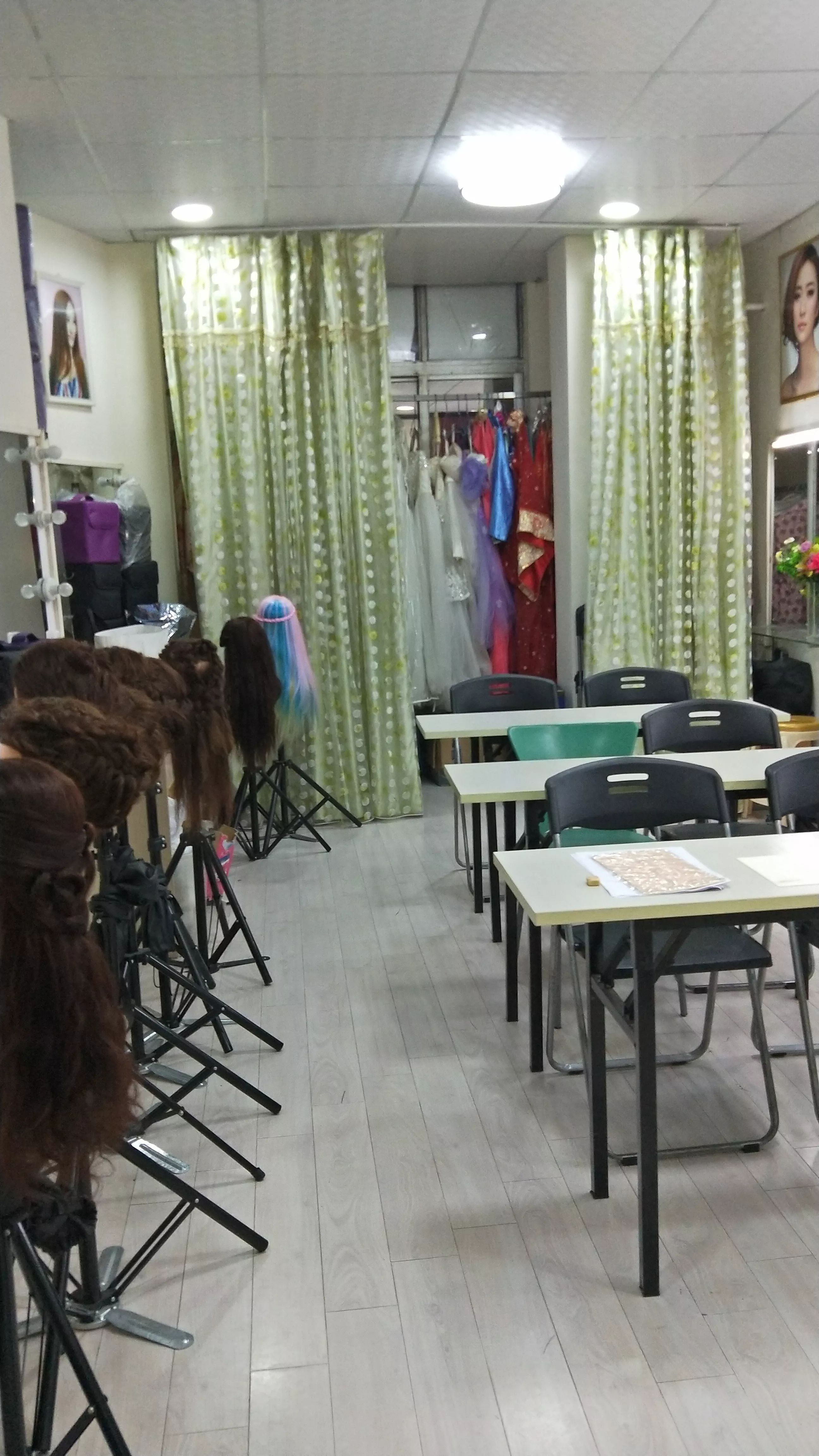广州黄埔大沙地 化妆,美甲,纹绣美容培训工作室转让