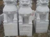 石材狮子批发定做 石雕麒麟价格 石材大象摆件招财