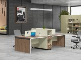 辦公桌小型會議桌簡約現代長方形培訓桌橢圓形洽談桌長條桌椅組合