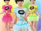 拉丁舞裙女儿童拉丁舞服装女童舞蹈服新款拉丁舞练功服演出服75
