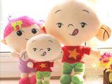 厂家批发儿童节礼物 大耳朵图图 小美 毛绒玩具公仔 生日礼物娃娃