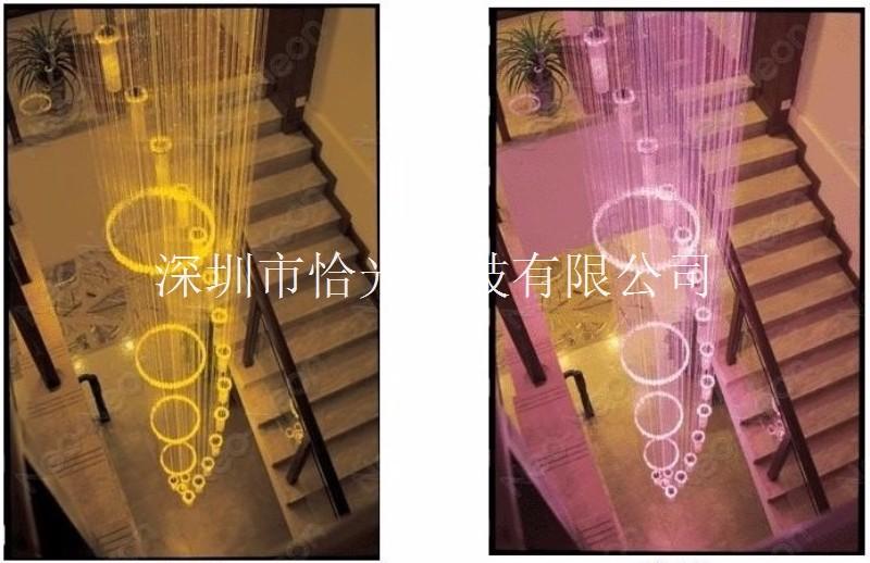 导光纤维光导纤维光纤满天星LED灯光纤造型满天星定制设计