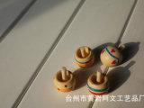 热销推荐 智能婴幼儿玩具 创意手动木制玩具 迷你陀螺 木质陀螺