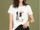 夏装女装白色t恤 三个码 实地考察