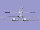 山东生产光缆金具预绞丝悬垂线夹,直线线夹厂家