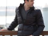 【90%鸭绒】OLRIK男式羽绒服2015冬款保暖立领男士羽绒服