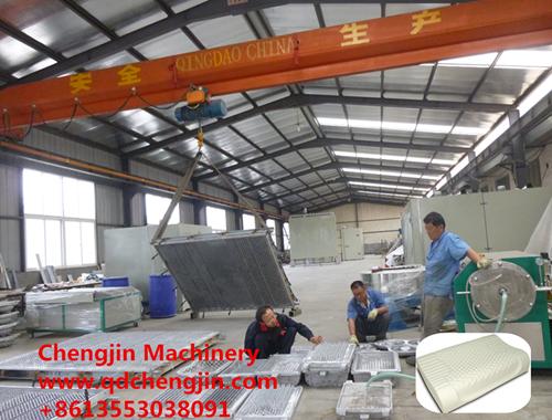 厂家供应乳胶枕头生产线设备 青岛程进机械制造有限公司