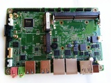 双网卡板载3.5寸3855U工控主板带PCIE扩展槽